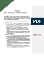 Software Design Sample - Pharmacy System