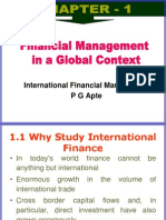 Chapter 1 international financial managment