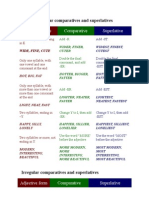 Guide Comparatives and Superlatives