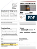Waves Revision Booklet