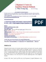 WT Ang's BEM (Boundary Element Method) Website.pdf