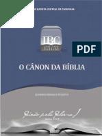 O Cânon da Bíblia - Pr. Leandro B. Peixoto