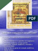 1ª Aula Introduão da Anatomia Humana DEPARTAMENTO DE FISIOLOGIA E ANATOMIA
