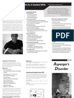 Aspergers Disorder Fact sheet