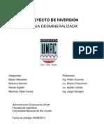 PROYECTO DE INVERSIÓN FINAL