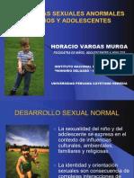 conductas sexuales anormales en niños y adolescentes - horacio-vargas
