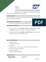 ABAP Resume