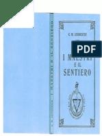 C.W.leadbeater -I Maestri e Il Sentiero