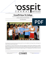 Crossfit Goes to College