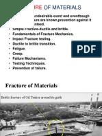 Failure of Materials