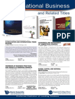 International Business and Related Titles