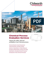 Chemical Process Evaluation Brochure