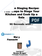 Mary Fasnacht - Kitchen Staging Recipe