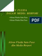 Aliran Fluida Dlm Media Berpori