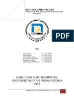 Jurnal Rfid Manajemen Proyek Udinus