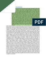 Documentos de Desarrollo