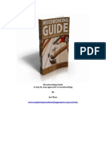 Woodworking Guide a Step by Step Approach to Woodworking