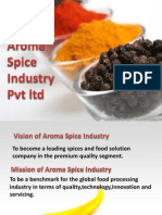 Aroma Spice Industry