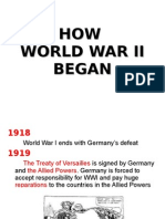 How WWII Started