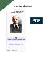 Historia Critica Del Leninismo