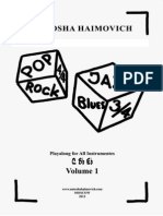 Antosha Haimovich - Pop Rock Jazz Blues - Vol. 1