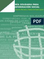 24 Economía solidaria para la transformación social