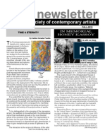 American Society of Contemporary Artists Newsletter 51 FALL-2013