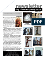 American Society of Contemporary Artists Newsletter 50 SPRING-2013