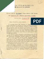 Intervento Di de Gasperi a Londra. 18-IX-1945