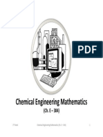 chemical engineering mathematics lectures