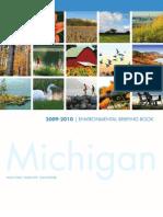 Michigan LCV Education Fund - Environmental Briefing Book - 2009-2010