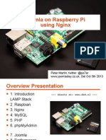Joomla on Raspberry Pi (with Nginx)