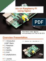 Joomla on Raspberry Pi (with Nginx)