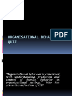 Organisational Behavior Quiz 97-2003