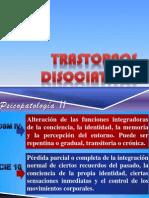 TRASTORNOS DISOCIATIVOS Psicopatología II