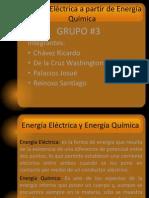 Energía Eléctrica a partir de Energía Química - copia