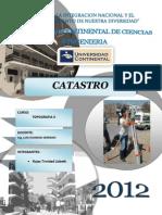 Catastro Monografia