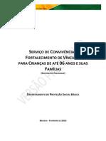 SCFV Crianca Ate 06 Anos - Arquivo Para CD e Internet - PDF