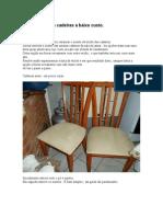 Repaginando as Cadeiras a Baixo Custo