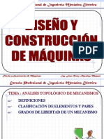 03 ANÁLISIS TOPOLÓGICO DE MECANISMOS.ppt