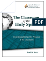 The Classroom of the Holy Spirit by Paul York