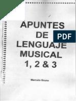Lenguaje Avellaneda 1, 2 & 3 - Marcelo Bruno