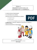 Tema 5 Representación Trabajadores 2012-13
