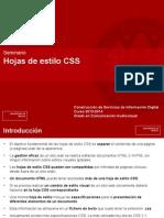 Tema 1 Seminario CSS