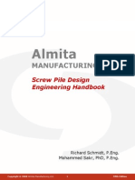 Almita Screw Pile Design Handbook 2008