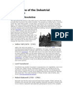 Innovations of the Industrial Revolution (Must Edit Back )