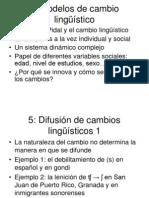 Curso de Sociolinguistica Universidad Autonoma de Sinaloa - Sesiones Teoricas - Temas 5 y 6