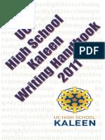 Student Writing Handbook