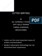 letterwriting-111127100827-phpapp02