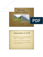 W6 Bilinear Interpolation